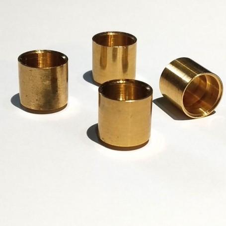 4 rims Ø10.20 x 10.50 mm - brass - CPC Production