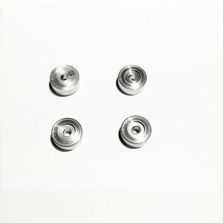 4 Aluminum inserts - Ø8.70 x 3.65 mm - CPC Production - CPCB132M