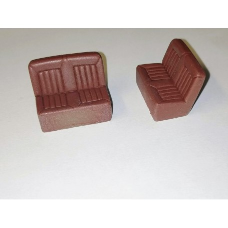 2 seater bench - Resin - 1 / 43th