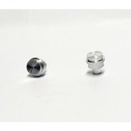 2 Aluminum plugs - Ø4.50mm - CPC Production