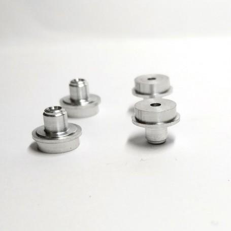 4 Aluminum Hubs - Ø7.60 mm - CPC Production
