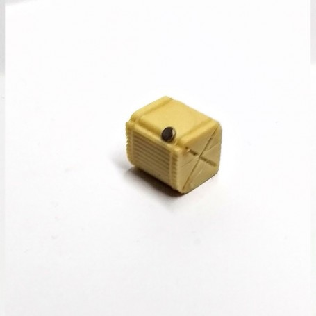 Resin tank and brass cap - long 15 mm - CPC Production