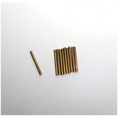 10 axes Ø2 x long. 22 mm - Brass - CPC Production
