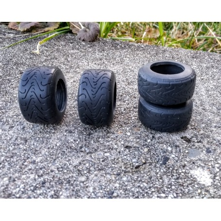 In the state - 4 tires Formula 1 in flexible resin - ech. 1:18 - for hollow rims