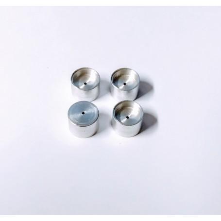 4 aluminum rims Ø 8.50mm - ech 1:43 - CPC Production