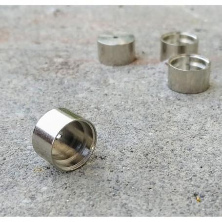 4 brass rims treated Ø10.20 x 6 mm - JA131B - CPC Production