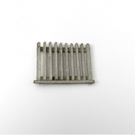 Barrier in White Metal - 31 x 25 mm - CPC Production