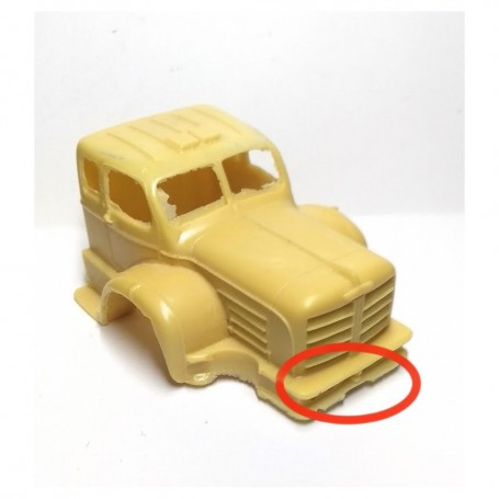 In the State - Berliet GBO Cab - C016 - Resin - CPC Production