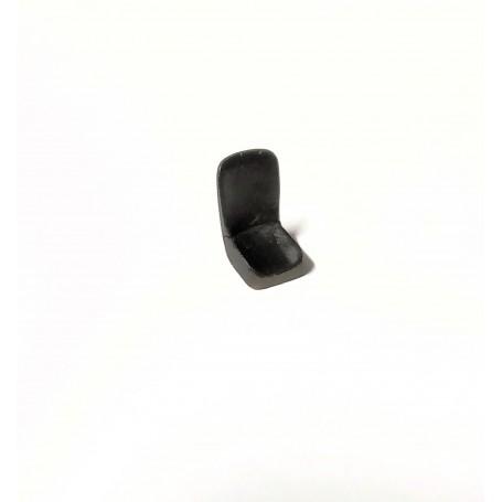Black seat - resin - ech. 1:43 - Unity