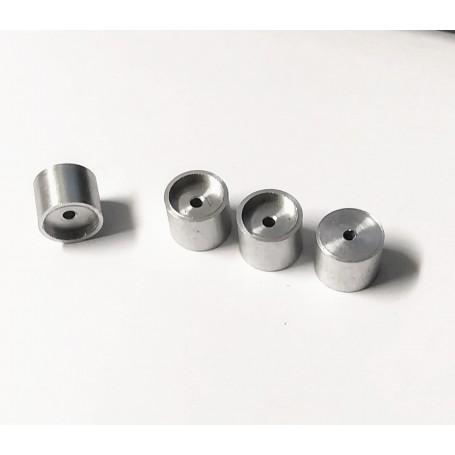 Aluminum wheels Ø11 x 9 - CPC Production - X5