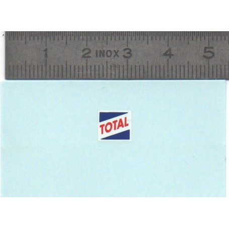 Decal - Total - 8x7mm - ech. 1:43 - by 2