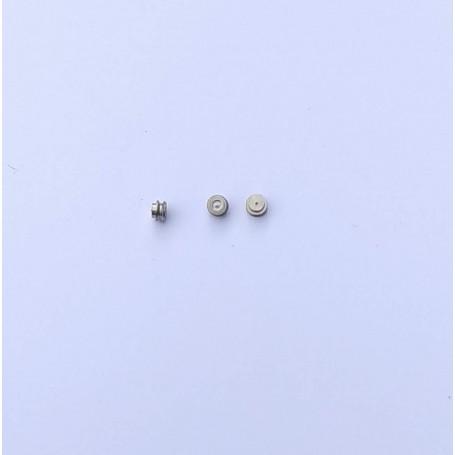 Brass Pulleys - Ø 2.70 mm - Brass + Chrome - X10