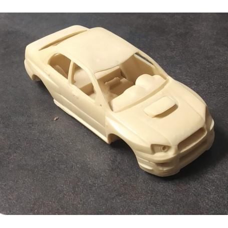 Subaru Impreza - ech Bodywork. 1:43 - Resin