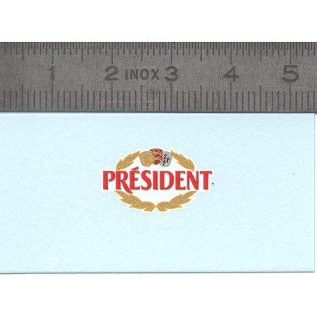 """Decal """"President"""" - ech. 1:43 - by 2"""