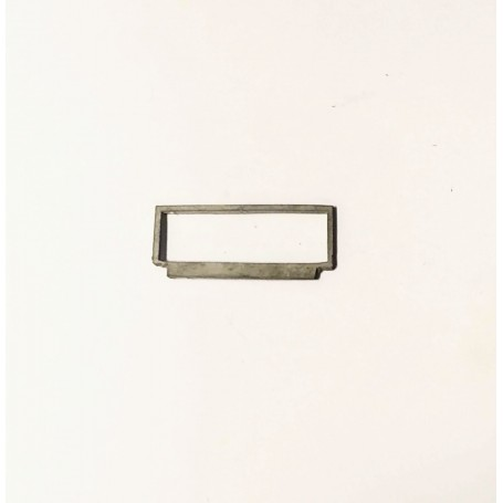 Windshield in White Metal - Length 26.20 mm