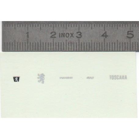 DecalComania - Peugeot 406 Toscana - Ech. 1:43