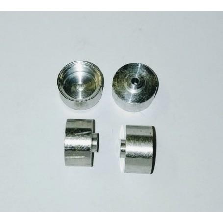 Aluminum wheels Ø10 x 6.50 (lot of 5)
