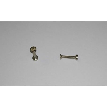 Klaxon trumpet - Length 9 mm - CPC Production - Set of 2