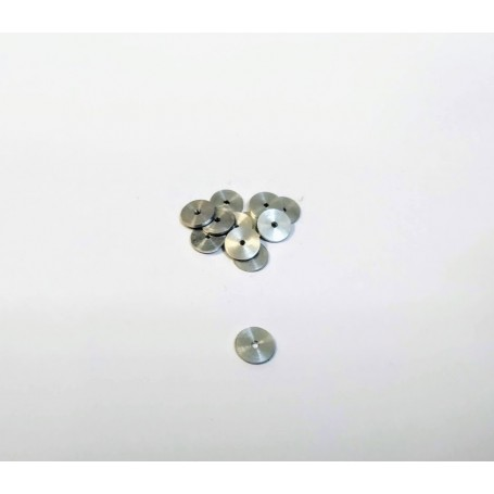 Aluminum Ø6.50 disc - Lot of 10 - CPC Production