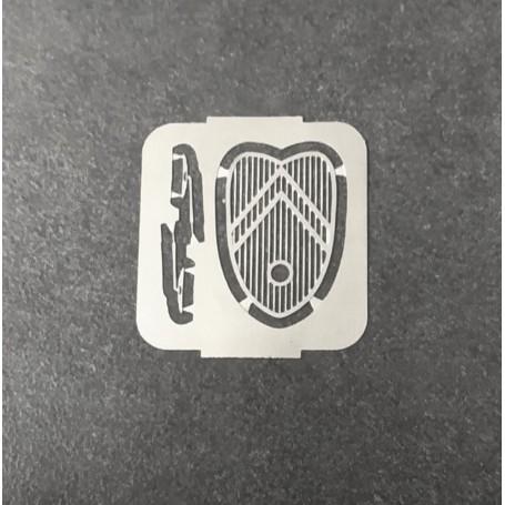 Calland + Wipers - Citroën 2CV - ECH. 1:43 - Photodicker