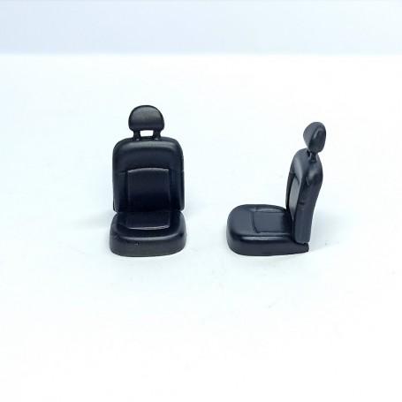 2 car seat - Renault Kangoo - Resin -1: 43