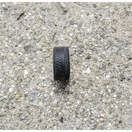 Flexible tires by 4 - Inner Ø 10.30 mm - 1 / 43th