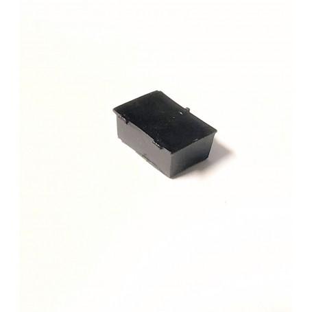 Resin box - black - ech 1:43