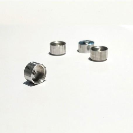 Aluminum wheels Ø 10 x 6.50 - CPC Production - X5 - CPCB119K