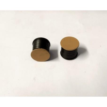 Painted resin reel - diameter 13.90mm - ech. 1:43