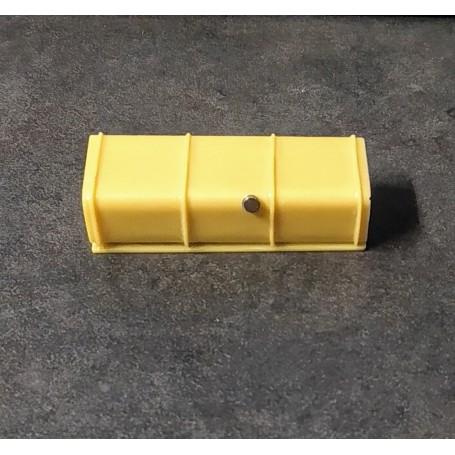 Resin Truck Tank - Metal cap - 47.50 mm - ECH 1:43