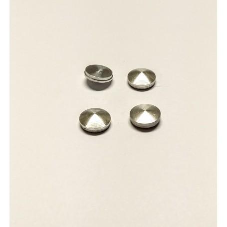 4 Aluminum inserts - Ø 7.80 mm - ECH. 1:43