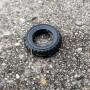 4 flexible resin tires - Ø19mm - ech 1:43