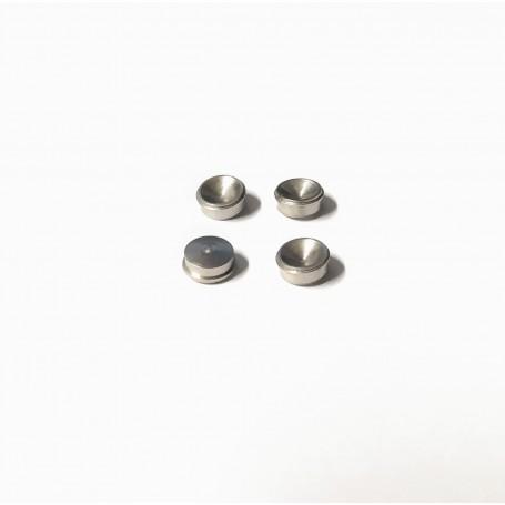 Wheel inserts Ø6mm treated brass - ech 1:43 - CPC Production