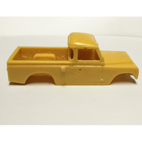 Resin Bodywork - Land Rover - Ech 1:43 - Some Defects