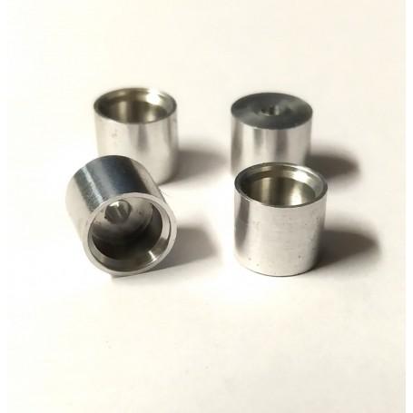 4 aluminum rims Ø 8.20 x 7.00mm - ech 1:43 - CPC Production