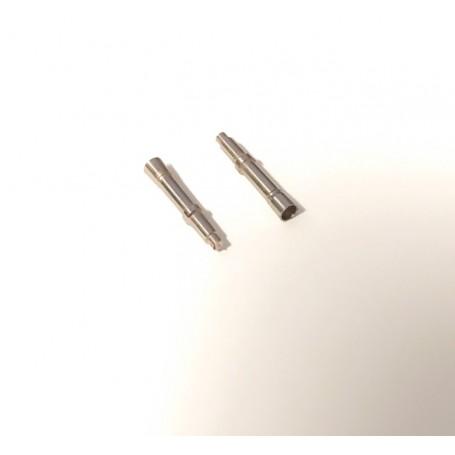 2 Brass Fire + Nickelized - Length 15.50 mm - CPC - 1:43