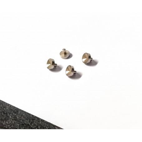 4 brass headlamps Ø3.50 x 1 mm - CPC production