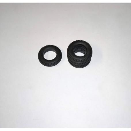 Flexible resin tires - Ø 18.30 - EP. 4.20 mm - ECH. 1/43