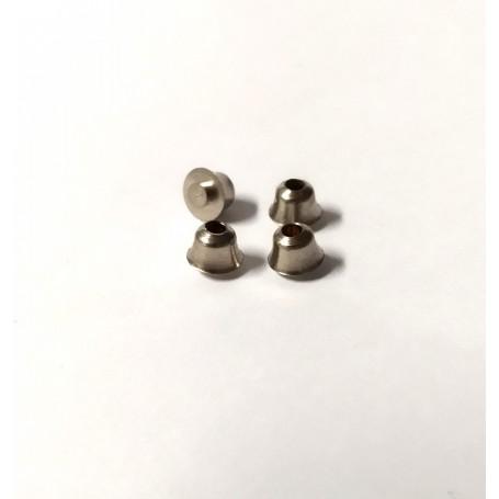 Embase Ø4.30 mm in nickelized brass - ech. 1:43 - X4
