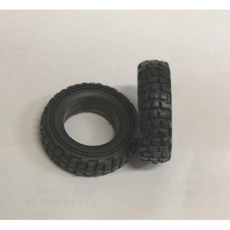 Soft truck tires - ech. 1:43 - Ø30 mm - Unity