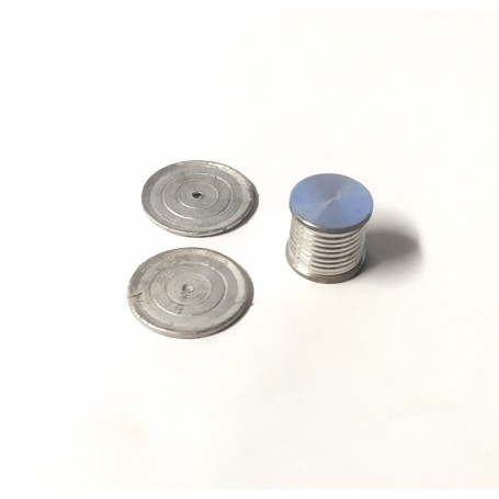Flip Ø 13.90 mm aluminum with discs Ø20.30mm - ech 1:43