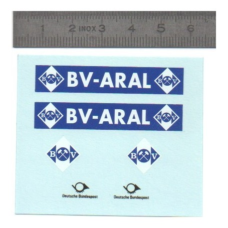"""Decal """"BV Aral"""" 1 / 43th"""