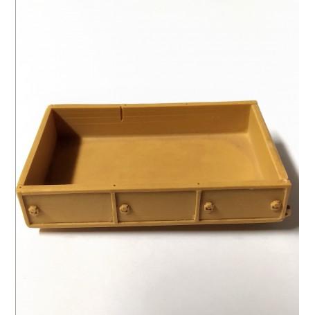 Resin box - 58 x 37 mm - ECH 1:43
