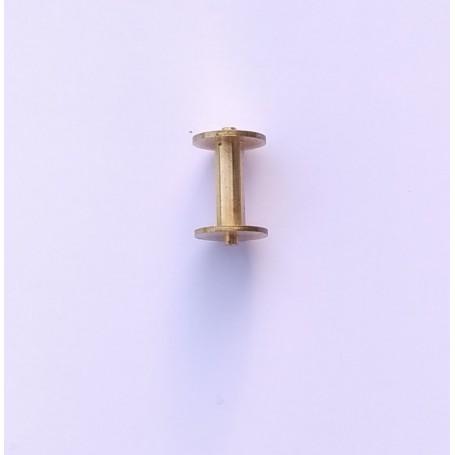 Reel Ø 9 mm brass - ech 1:43