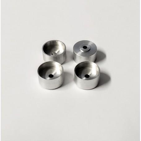 4 aluminum rims Ø10.50 mm x 5.80 mm - CPC