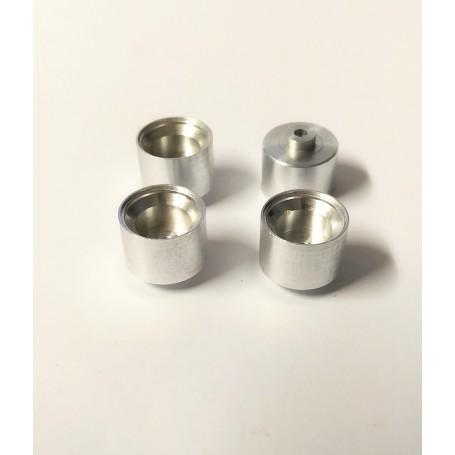 4 aluminum rims Ø 11.50 x 10 mm - ECH 1:43 - CPC Production