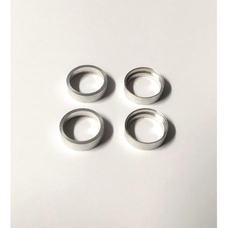 4 Aluminum hollow rims - Ø12.50 mm - CPC Production