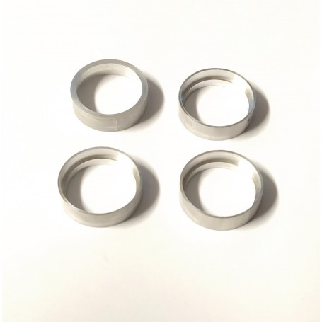 4 Hollow Aluminum Rims - Ø 14 mm - CPC Production