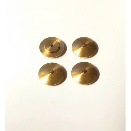 4 brass inserts - Ø 10.75mm - CPC Production