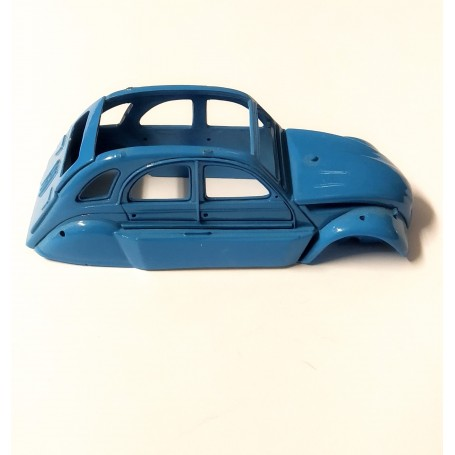 Construction Citroen 2CV Blue - In the State - 1:43